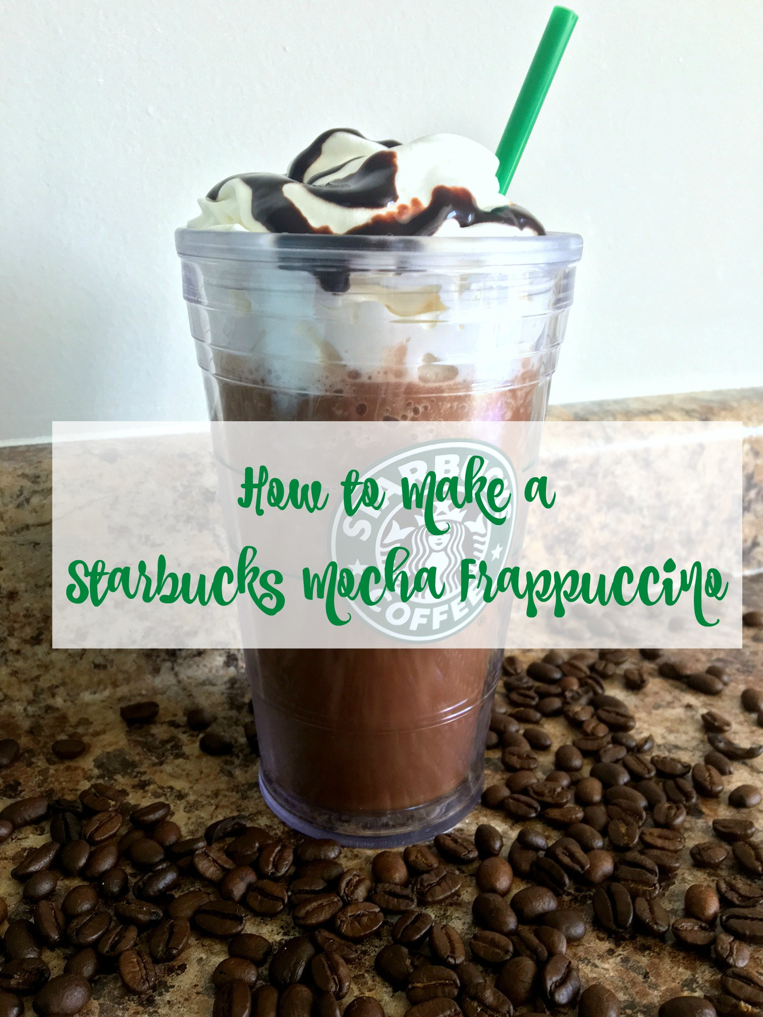 How To Make A Starbucks Mocha Frappuccino Tracey Zimmer